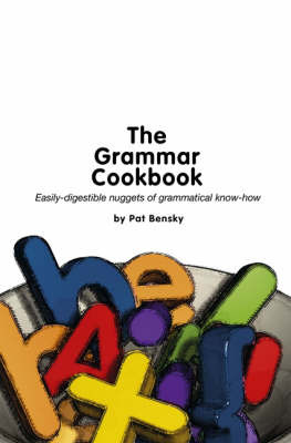 The Grammar Cookbook by Patricia Bensky image