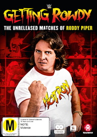 WWE: Getting Rowdy: The Unreleased Matches Of Roddy Piper on DVD image