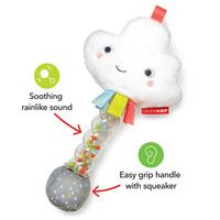 Skip Hop: Silver Lining Cloud Rain Stick Rattle
