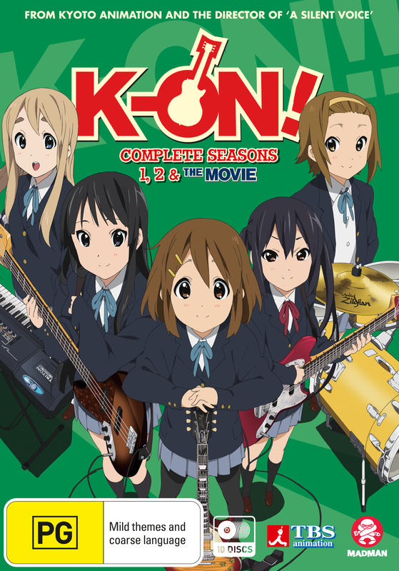 K-on! Ultimate Collection (Season 1, 2 & Movie) on DVD