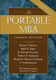 The Portable MBA by Robert F Bruner image