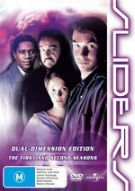 Sliders - Dual-Dimension Edition: Seasons 1 And 2 (6 Disc Set) on DVD