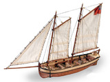 Artesania Latina Longboat H.M.S Endeavour 1:50 Wooden Model Kit