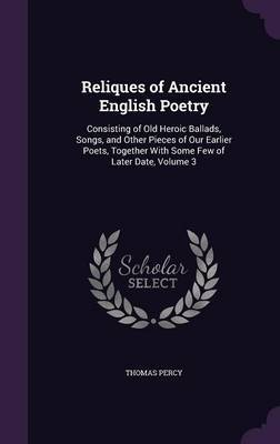 Reliques of Ancient English Poetry by Thomas Percy image