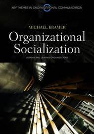 Organizational Socialization by Michael Kramer image