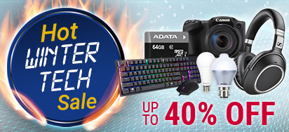 Hot Winter Tech Sale