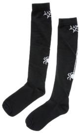 Sourpuss: Spider & Web Knee Socks - Black