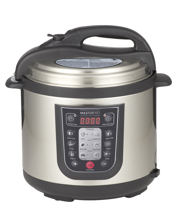 MasterPro: 12 in 1 Multi Cooker (34.5x31x32.5cm/6L)
