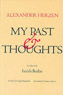 My Past and Thoughts: The Memoirs of Alexander Herzen by A.I. Gertsen image