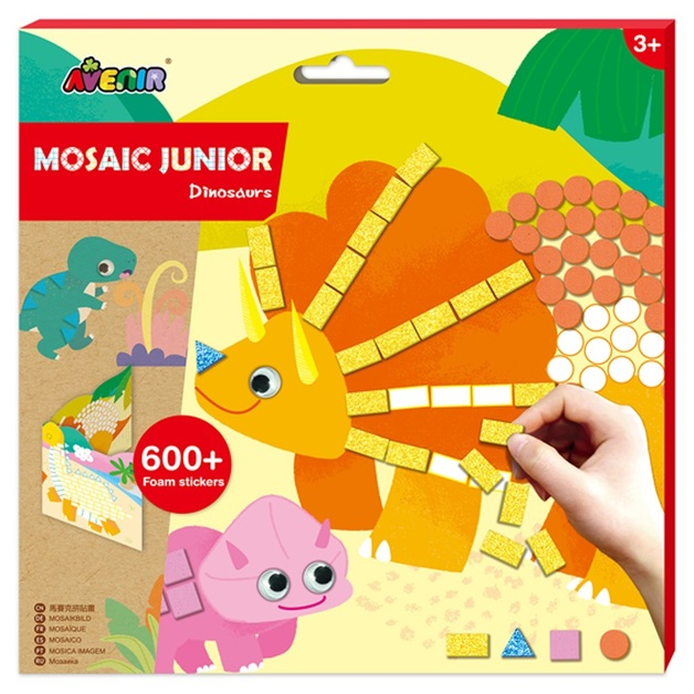 Avenir: Mosaic Junior Kit - Dinosaurs