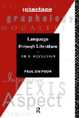 Language Through Literature by Paul Simpson image