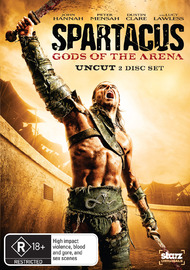 Spartacus: Gods of the Arena on DVD