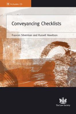 Conveyancing Checklists by Frances Silverman