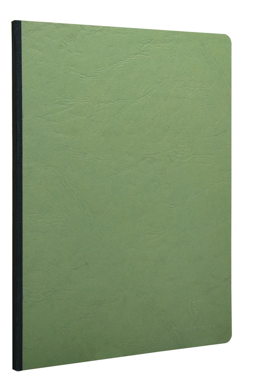 Age-Bag Soft Cover Blank A4 notebook - Green