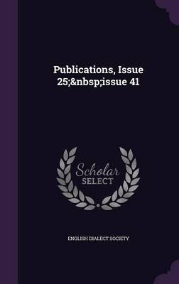 Publications, Issue 25; Issue 41