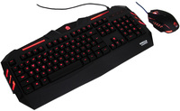 Gorilla Gaming Predator Gaming Combo (Red) for PC Games