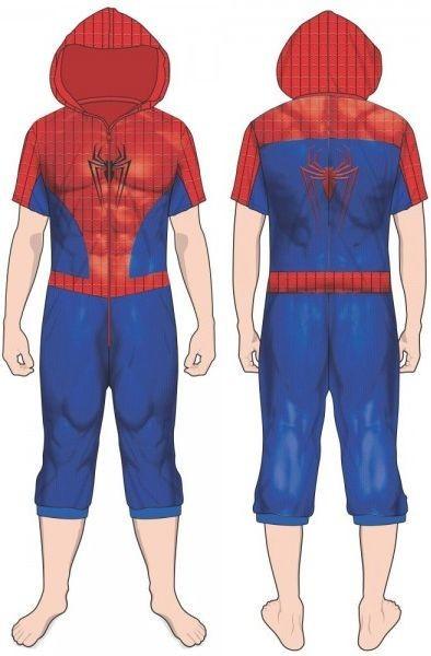 Marvel: Spider-Man Cropped - Union Suit image