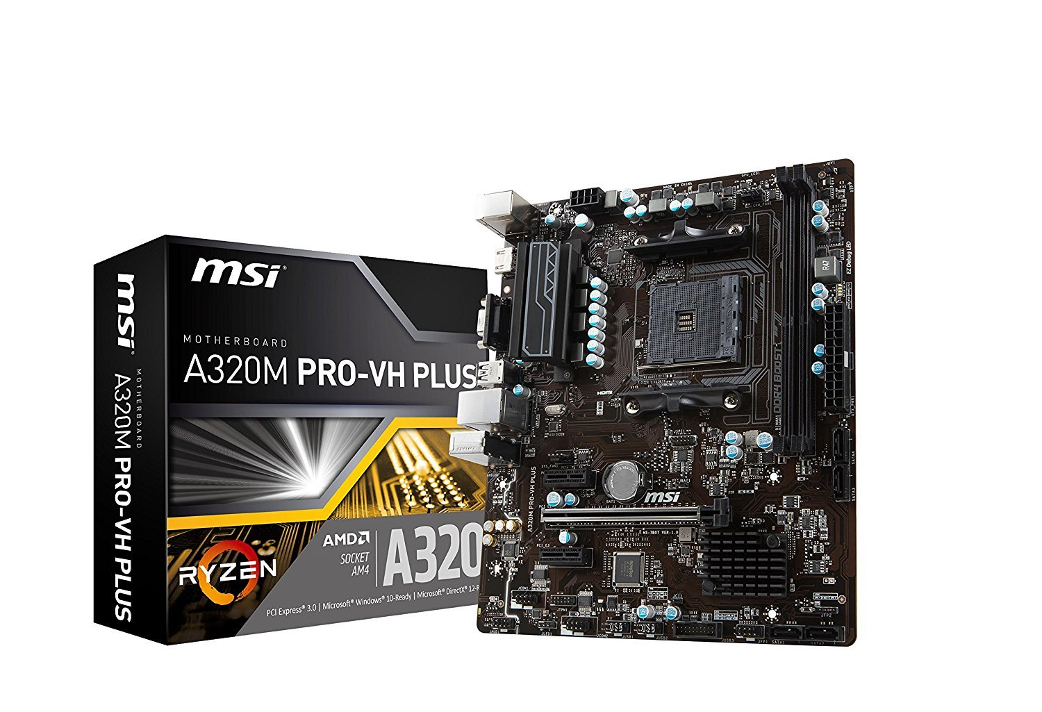 MSI A320M Pro-VH PLUS Motherboard image