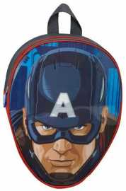 Marvel Captain America Head Shaped Backpack