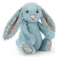 Jellycat: Blossom Aqua Bunny - Small Plush