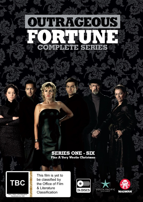 Outrageous Fortune - Complete Series on