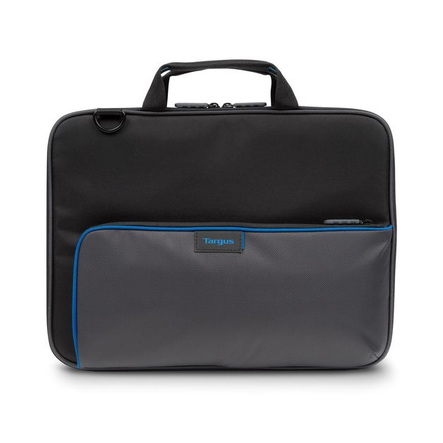 "Targus: Education Dome Protection 11.6"" Work-In Clamshell Laptop Bag (Black/Grey)"
