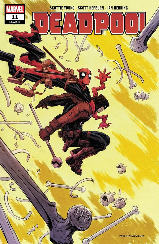 Deadpool - #11 (Cover A) by Skottie Young