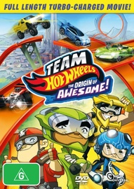 Team Hot Wheels: The Origin of Awesome on DVD