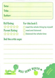 Bookworm Journal: A Reading Log for Kids by Potter Style image