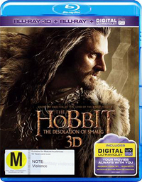 The Hobbit: The Desolation of Smaug (Blu-ray 3D/Blu-ray/) on Blu-ray, 3D Blu-ray