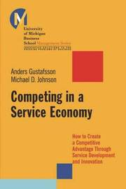 Competing in a Service Economy by Matthew , D. Johnson image