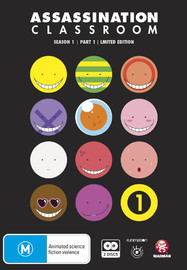 Assassination Classroom - Part 1 Limited Edition on DVD image