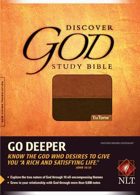 Discover God Study Bible-NLT image