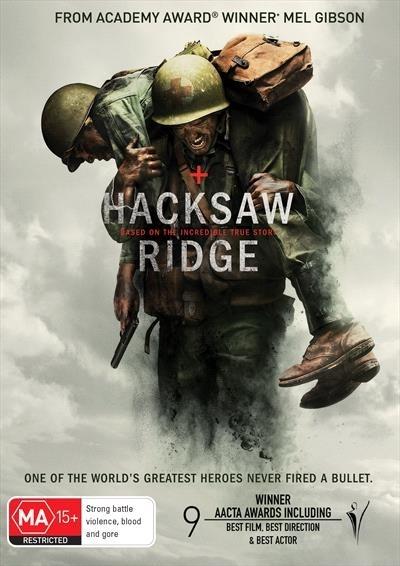 Hacksaw Ridge on DVD image