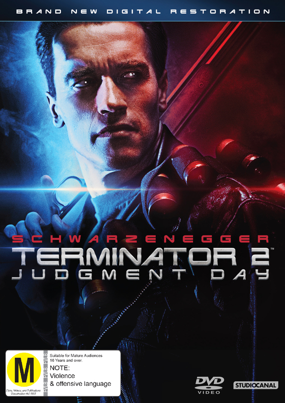 Terminator 2: Judgement Day on DVD