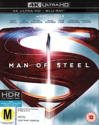 Man Of Steel on Blu-ray, UHD Blu-ray