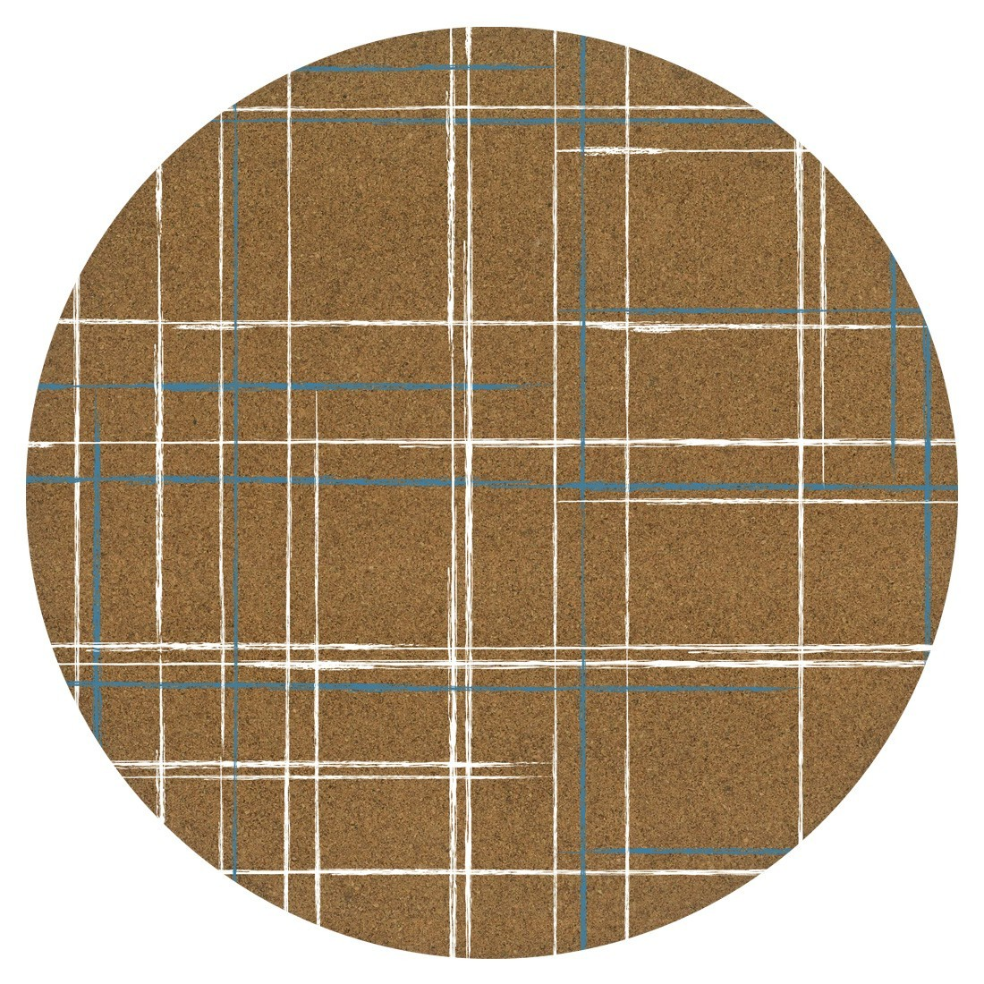Cork Placemats - Grid (Set/4) image