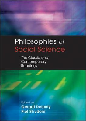 PHILOSOPHIES OF SOCIAL SCIENCE by Gerard Delanty image