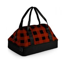 Insulated Potluck Casserole Tote - Buffalo Plaid