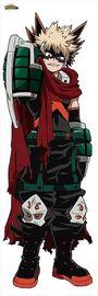 My Hero Academia: Life-size Tapestry 2 Katsuki Bakugo