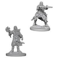 Pathfinder Deep Cuts: Unpainted Miniature Figures - Male Human Wizard image