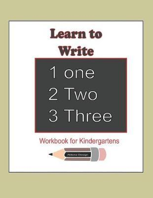 Learn to Write 123 by Aldona Design
