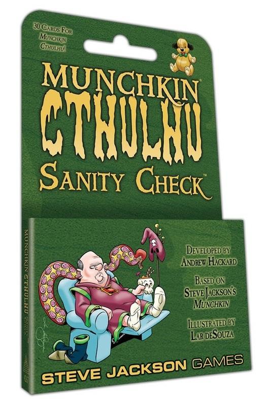 Munchkin: Cthulhu - Sanity Check Expansion