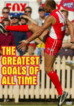 AFL - The Greatest Goals Of All Time on DVD
