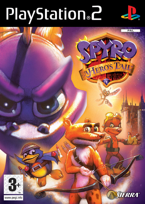 Spyro: A Hero's Tail for PlayStation 2