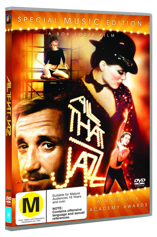 All That Jazz - Special Music Edition on DVD