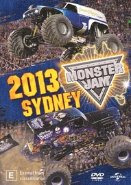 Monster Jam Sydney 2013 on DVD