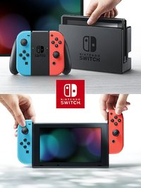 Nintendo Switch Neon Console for Nintendo Switch image