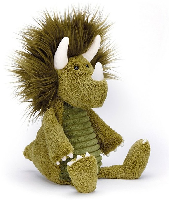 "Jellycat: Snagglebaggle Dennis Dino - 11"" Plush image"