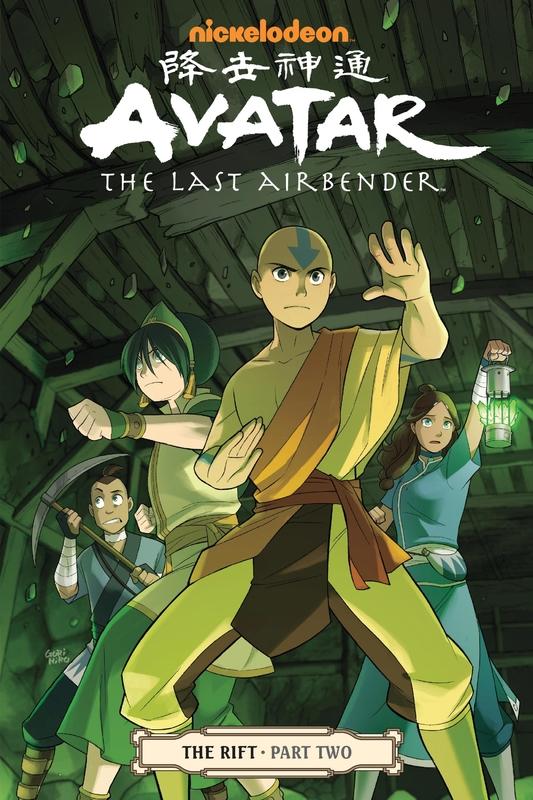 Avatar The Last Airbender The Rift Part 2 Gene Luen Yang Book